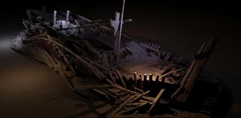 Oudste intacte wrak ontdekt in Zwarte Zee