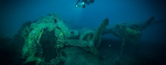 Duik op de B-17 Flying Fortress