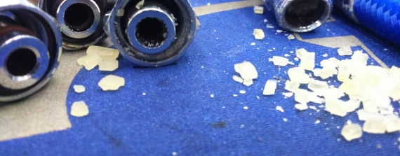Onzichtbare kristallen en ademautomaatproblemen