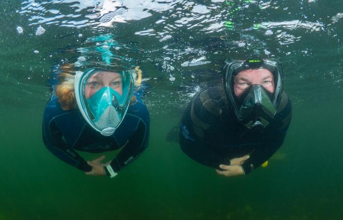 Test snorkelmaskers 2019