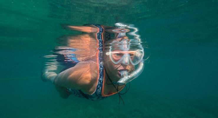 Snorkelen is fun!