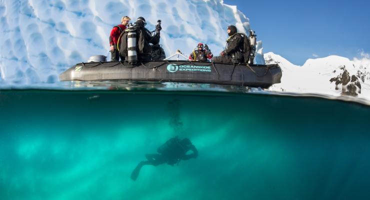 Duik onder het ijs met EWDR