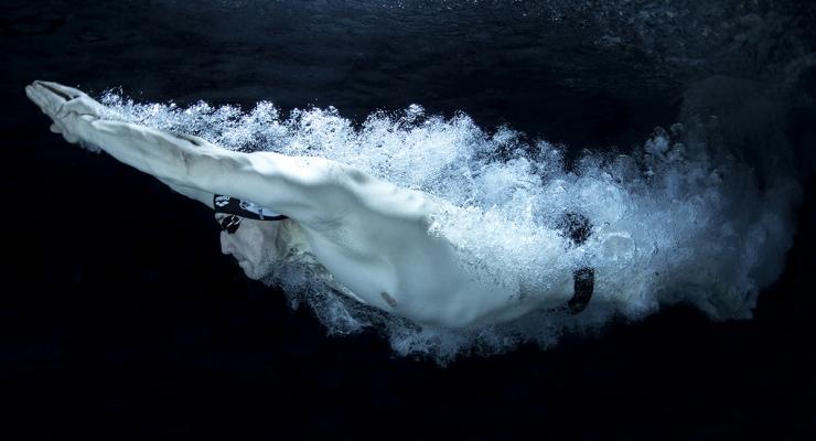 Power, de kracht van een wedstrijdzwemmer - Het verhaal achter de foto