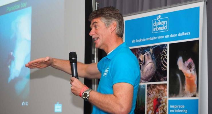 Peter de Maagt. DuikeninBeeld op Nature Talks 2017. Foto: René Weterings.