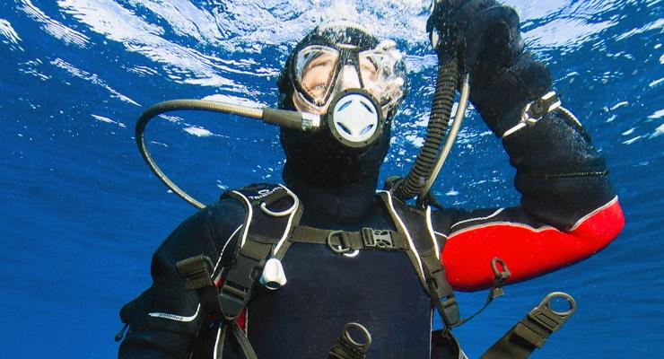 Semi-droog onder water met Subea