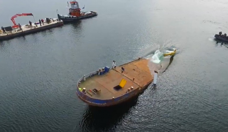 Nieuw duikwrak afgezonken!