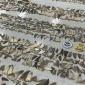 Lading haaienvinnen met waarde van miljoen euro gevonden