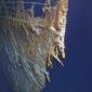 Onderzeeër botst op Titanic