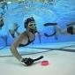 Onderwaterhockeyers gaan voor record