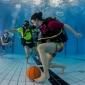 Kom naar het Nederlands Kampioenschap Onderwatervoetbal